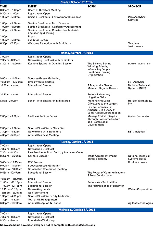 Sample Conference Schedule - 9+ Documents In Pdf, Wordmeeting